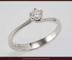Biffi Gioielli - Anello con diamante per il fidanzamento