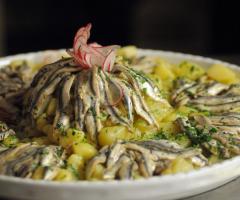 Masseria Torre di Nebbia - Coreografia di pesce