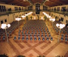 Sala congressi della location di nozze