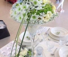 Luisa Mascolino Wedding Planner Sicilia - Centrotavola di fiori