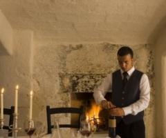 Cena privata nella sala dell\'Aranceto