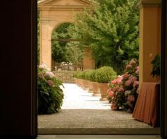Villa Aretusi - L'ingresso della location