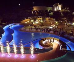 Borgo Ducale Brindisi - La festa di nozze di notte