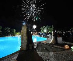 Agriturismo Tredicina - Lo spettacolo dei fuochi d'artificio