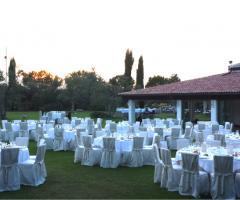 Matrimonio serale in giardino