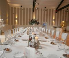 Tavolo imperiale per le nozze