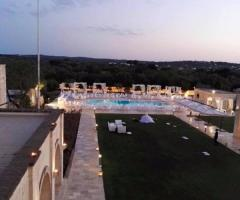 Masseria Traetta Exclusive - Vista piscina dall'alto