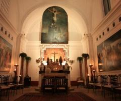 Chiesa interna per la cerimonia di nozze