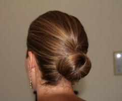 Tatiana Make up Artist - Acconciatura con i capelli raccolti