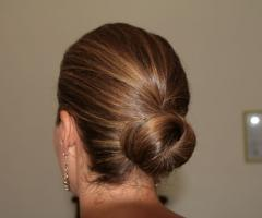 Tatiana Ruiz Make up - Acconciatura con i capelli raccolti