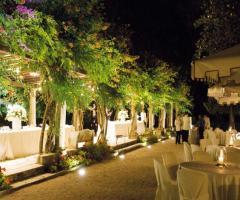Matrimonio in giardino a Villa Vergine