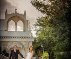 Feudo della Selva - Gli sposi presso la location di nozze