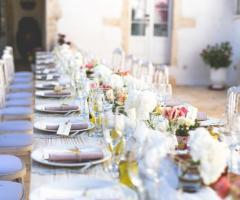 Masseria Luco - Dettagli della tavola