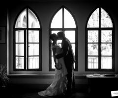 Bacio degli sposi - Qualcosa di Blu
