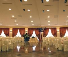 Sala interna per il ricevimento