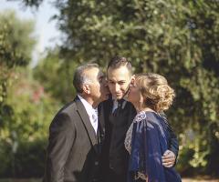 Francesco Caroli - I genitori dello sposo
