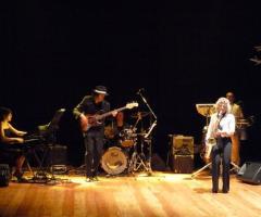 Sax Blond Letizia Brunetti - In concerto sul palco