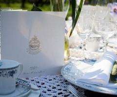 Un allestimento d'antan per le nozze a Parco Gambrinus