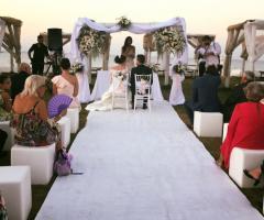 Guna Beach Club - La cerimonia di nozze in spiaggia
