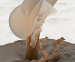 Daniela Gristina - Cappello a falde larghe per la sposa