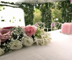 Mama Casa in Campagna - La coreografia floreale per il matrimonio