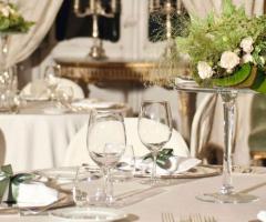 Villa Boscogrande - Mise en place in verde per le nozze