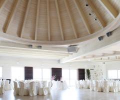 Tenuta Monacelle - Sala per il ricevimento di nozze