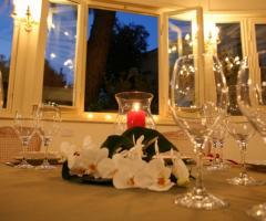 Centrotavola per i tavoli di matrimonio