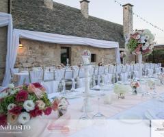 Masseria Bonelli - Il ricevimento di nozze serale