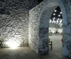 Masseria Bonelli - L'illuminazione interna