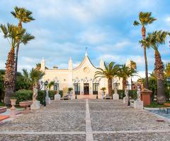 Grand Hotel Vigna Nocelli Ricevimenti - Il viale d'ingresso