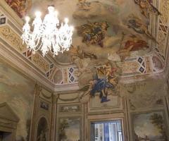 Villa Boscogrande - Sala con affreschi originali