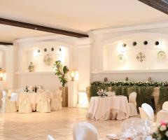 Masseria Montalbano - Particolari della sala interna