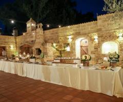 Antica Masseria Martuccio - Gran buffet di dolci e frutta