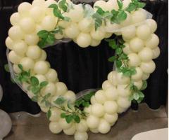 La Pirotecnica Pugliese - Palloncini a forma di cuore per gli sposi