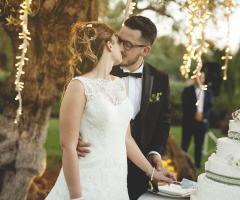 Francesco Caroli - Il bacio al taglio della torta