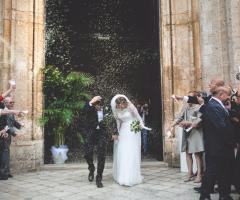 Francesco Caroli - L'uscita dalla chiesa
