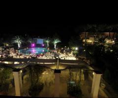 Villa San Martino - Vista dall'alto per il matrimonio serale