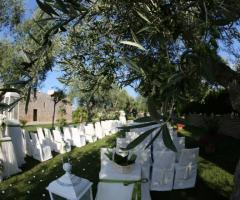 Casale San Nicola - La cerimonia di nozze all'aperto