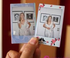 Polaroid della sposa