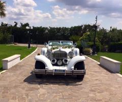 Parco della Laguna Lesina - L'auto di nozze