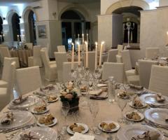 Oasi  Quattro Colonne - Centrotavola con le candele