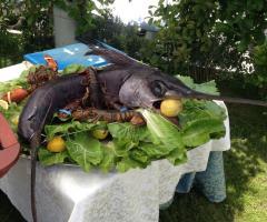 Menu di pesce per il matrimonio