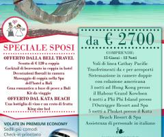 Viaggio di nozze Hong Kong - Phuket - Phi Phi Island