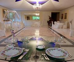 Villa Torrequadra - Mise en place per le nozze