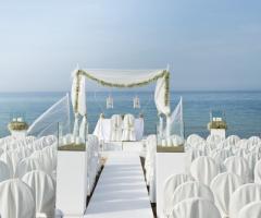 Coccaro Beach Club - Location sul mare per matrimoni in spiaggia
