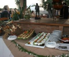 Tavolo del banchetto di matrimonio