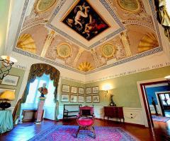 Arredamento di lusso a Villa Carafa