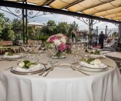Il giardino di Villa Lina - Il ricevimento per il matrimonio a Venezia