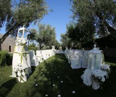 Casale San Nicola - Allestimento per il rito civile
